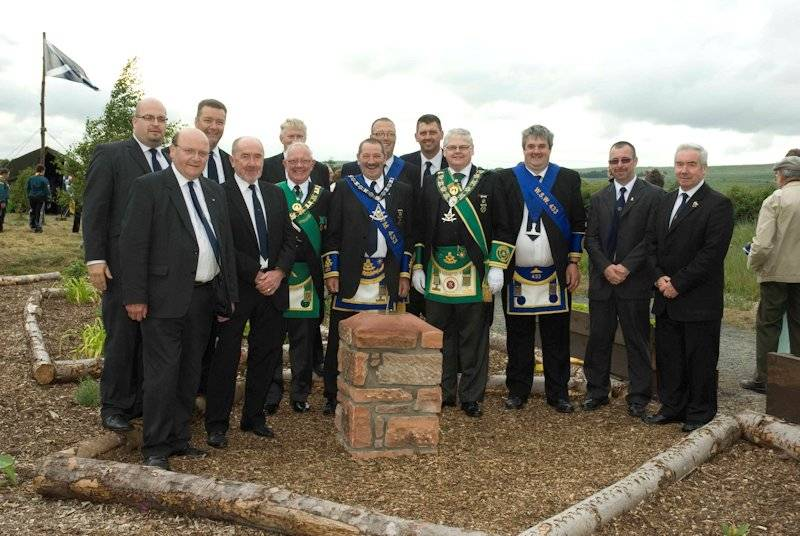 Opening of the Scouts Garden of Remembrance