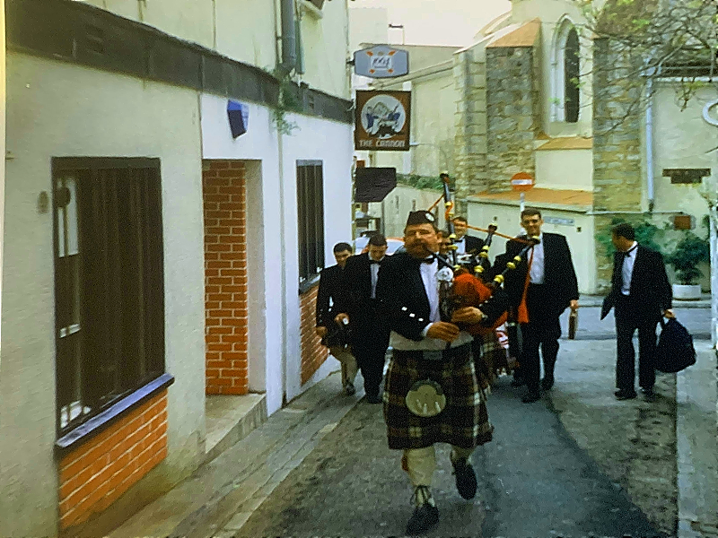 First time in Gibraltar – Bro. Alexander Johnstone as RWM